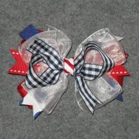 Buy cheap 4th of July - Girl's Hair Bow from wholesalers