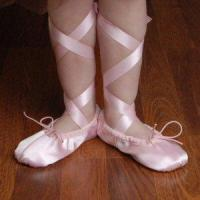 Buy cheap Pink Satin Ballet Slippers from wholesalers