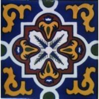 Buy cheap Decorative Tile D-401 Cobalt, Ceramic Mexican Tile from wholesalers