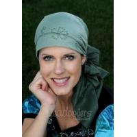 Buy cheap 100% Cotton Embroidered Tie Dye Head Scarf from wholesalers