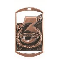 Buy cheap 2 3/4 Dog Tag Medal - 3rd Place from wholesalers