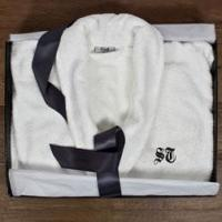 Buy cheap Luxury Egyptian Cotton Bath Robe (adult) from wholesalers