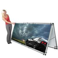 Buy cheap Monsoon Single/Double-Sided Outdoor Banner Stand from wholesalers