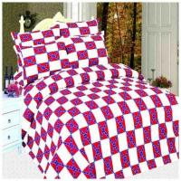 Buy cheap Twin Sheet Sets Twin Rebel Flag Print Sheet Set from wholesalers