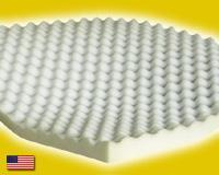 Buy cheap Twin Mattress Toppers Twin Size Egg Crate Foam Mattress Topper 2 Thick from wholesalers