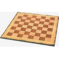 Buy cheap Chess Boards BRD-1018B - Large 18 inch Chiseled Edge Wood Chess board from wholesalers