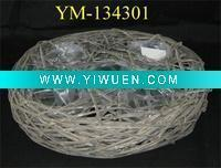 Artificial Crafts(970) floral basket