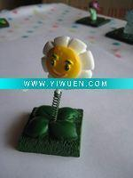 Buy cheap Artificial Crafts(970) plants zombies polyresin marigold figurine home decoration from wholesalers