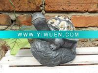 Buy cheap Artificial Crafts(970) turtle design resin statue for garden from wholesalers
