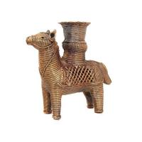 Buy cheap Horse Brass Candle Holder from wholesalers