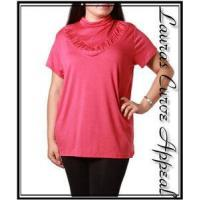Buy cheap Womens PLUS SIZE Clothing Mauve Pink Top 1X 14/16 from wholesalers