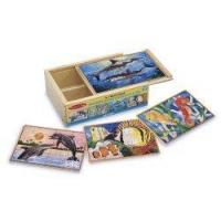 Buy cheap Melissa & Doug Deluxe Sea Life in a Box Jigsaw Puzzles product