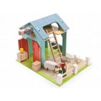 Buy cheap Model Figures Le Toy Van Budkins Blue Barn from wholesalers