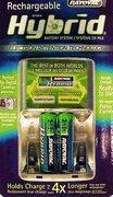 Buy cheap 2 Hybrid NIMH AA's 1.2V 2100 mAh with charger (new) from wholesalers