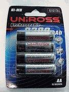 Buy cheap 4 AA's Uniross 2300 mah Nicads high capacity for digital cameras from wholesalers