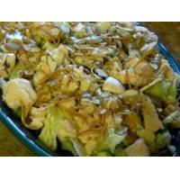 Buy cheap Chinese Chicken Dinner Salad with Oriental Creamy Dressing from wholesalers