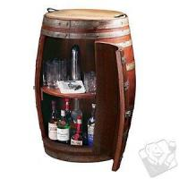 Buy cheap Bar Furniture Vintage Oak Barrel Wine Cabinet from wholesalers