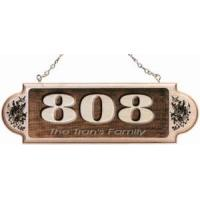 Buy cheap Personalized Wooden Address Plaque w/Message from wholesalers