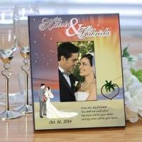 Buy cheap Starry Night Wedding Personalized Picture Frame from wholesalers
