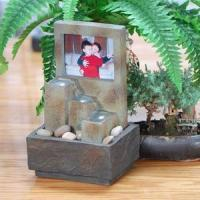 Buy cheap Tabletop Water Fountain with Photo Frame from wholesalers