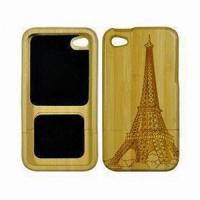 Buy cheap iPhone/iPad's Product  Wooden Case for iPhone from wholesalers