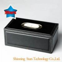 Buy cheap D--Tissue boxes Black Tissue Box Table Napkin Case from wholesalers