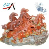 Buy cheap CH-121 Red Rock Horse Sculpture from wholesalers