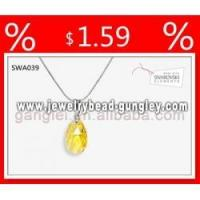 Buy cheap Necklace pendant cross pendant crystal pendant from wholesalers