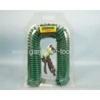 Buy cheap Garden Water Equipment 15M Garden Recoil Water Hose With Spray Gun from wholesalers