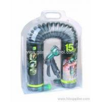 Buy cheap Garden Water Equipment 50FT Garden Contract Water Hose With Spray Nozzle from wholesalers