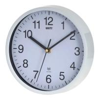 Buy cheap Decorative UNITY RADIO CONTROLLED WALL CLOCK WHITE RADCLIFFE 8 20CM from wholesalers