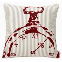 Buy cheap Bedroom BECKY BROOME RED & BEIGE POCKET WATCH FEATHER & COTTON CUSHION from wholesalers