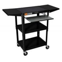 Buy cheap C AVJ42KBDL 24 Height Adjustable sit / stand metal computer cart - expandable - from wholesalers