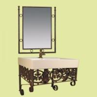 Buy cheap Whole basin mirror and bathroom free standing furniture 46cm from wholesalers