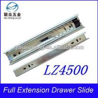 Buy cheap 45MM 3-fold drawer slide guide sliding roller track manufacturers from wholesalers