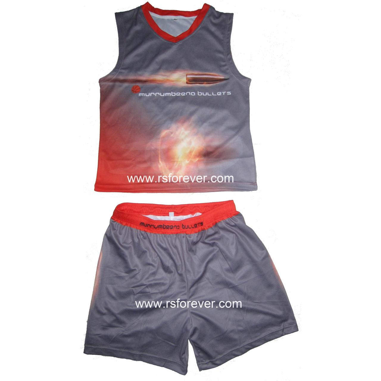 Buy cheap Sportswear Custom Made Sublimated Basketball Uniform from wholesalers