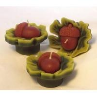 Buy cheap Holidays & Celebrations Floating Acorn on Leaf Candle from wholesalers