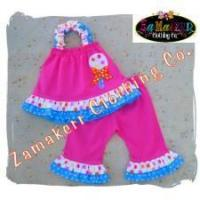 Buy cheap Toddler Baby Girl Outfit Birthday In Pink Lollipop Set from wholesalers