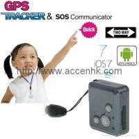Buy cheap Mini GPS Tracker SOS Communicator Kids Safety 2-Way Walkie Talkie Long Standby from wholesalers