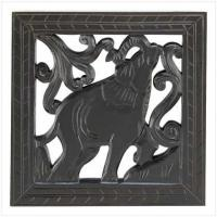 Buy cheap FOR THE HOME-> Carved Wood Elephant Decor[39965] from wholesalers