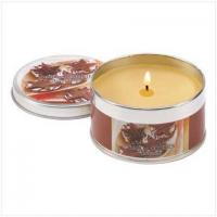 Buy cheap CANDLES AND SCENTS Vanilla Cookie Scent Tin Candle[14361] from wholesalers