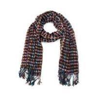 Buy cheap Brown Wool stretch spot scarf from wholesalers