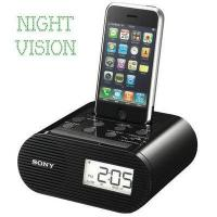 Buy cheap Sony iPhone Charger Hidden Camera Alarm Clock and Radio from wholesalers