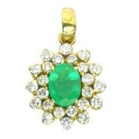 Buy cheap Pendants Emerald Diamond Pendent from wholesalers