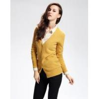 Buy cheap Female fashion 100% wool long cardigan sweater from wholesalers