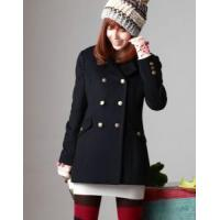 Buy cheap Knitting wears Fashionable double-breasted coat from wholesalers