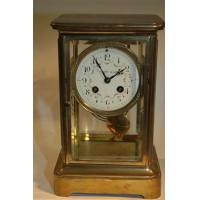 Buy cheap Clocks & Timepieces Tiffany and Co Brass Clock with Floral Motif from wholesalers