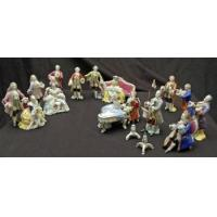 Buy cheap Porcelain - China Set of 12 miniature Meissen quality figurines small Orchestra / Band playing from wholesalers