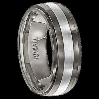 Buy cheap All Wedding Bands 7.5 mm Silver/Titanium - C100T from wholesalers