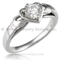 Buy cheap Unique Claddagh Engagement Ring from wholesalers